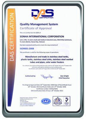 Quản lý chất lượng các sản phẩm Sơn Hà bản gốc bằng tiếng Anh