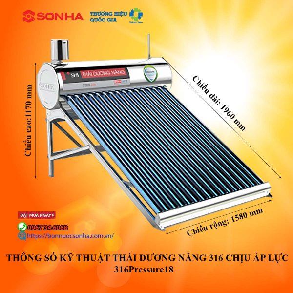 Thong So Ky Thuat Thai Duong Nang Chiu Ap Luc 316 Pressure 18 Min
