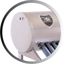 Vỏ bình chứa nước nóng