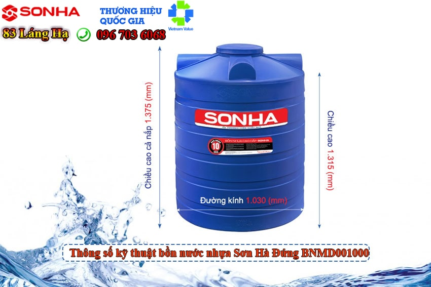 Bon Nhua Son Ha Dung Bnmd01000 Min