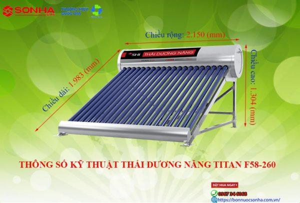 Thong So Ky Thuat Thai Duong Nang Titan F58 260 Min