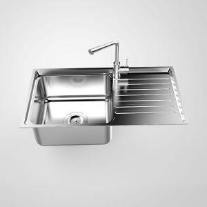 Chậu rửa bát Sơn Hà S50 - Inox 304