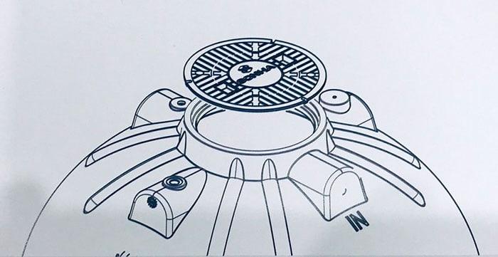 Nắp bể thiết kế chịu lực và chống các loại côn trùng xâm nhập(gián, chuột,..)