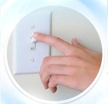 Ngắt điện khi dùng bình nóng lạnh