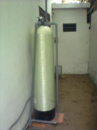 Bộ lọc nước sinh hoạt (lọc lại nước máy 1 cột composite)
