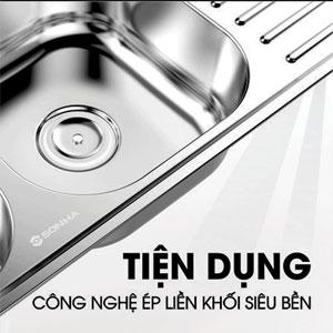 Chậu rửa Inox Sơn Hà