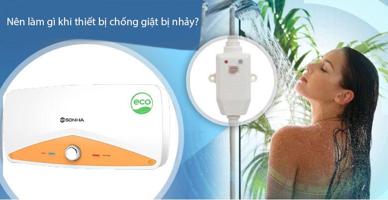 Nen Lam Gi Khi Thiet Bi Chong Giat Bi Nhay