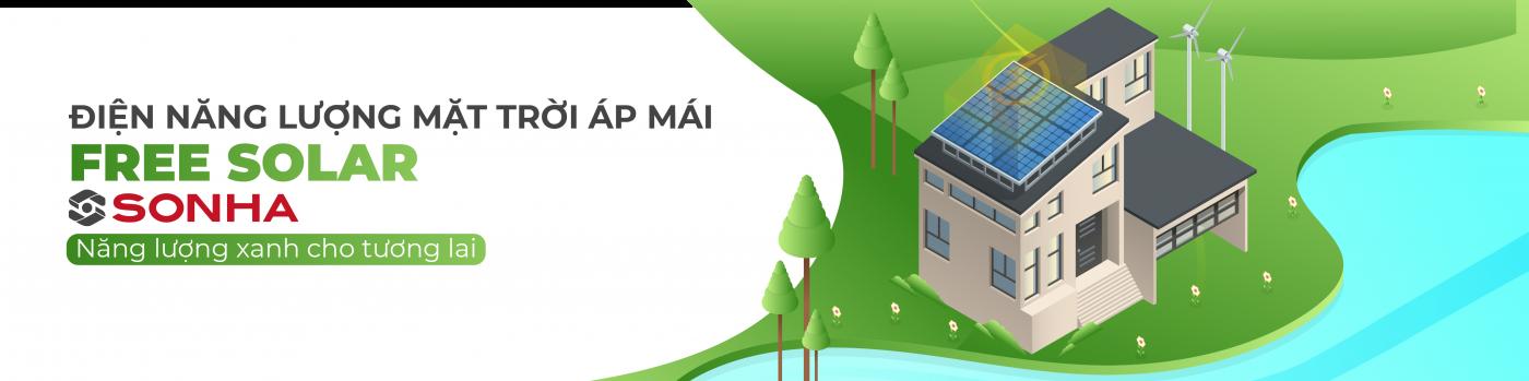 Điện mặt trời áp mái Free Solar