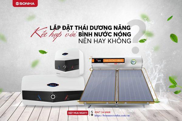 Co Nen Lap Dat Thai Duong Nang Ket Hop Voi Binh Nuoc Nong Khong Min