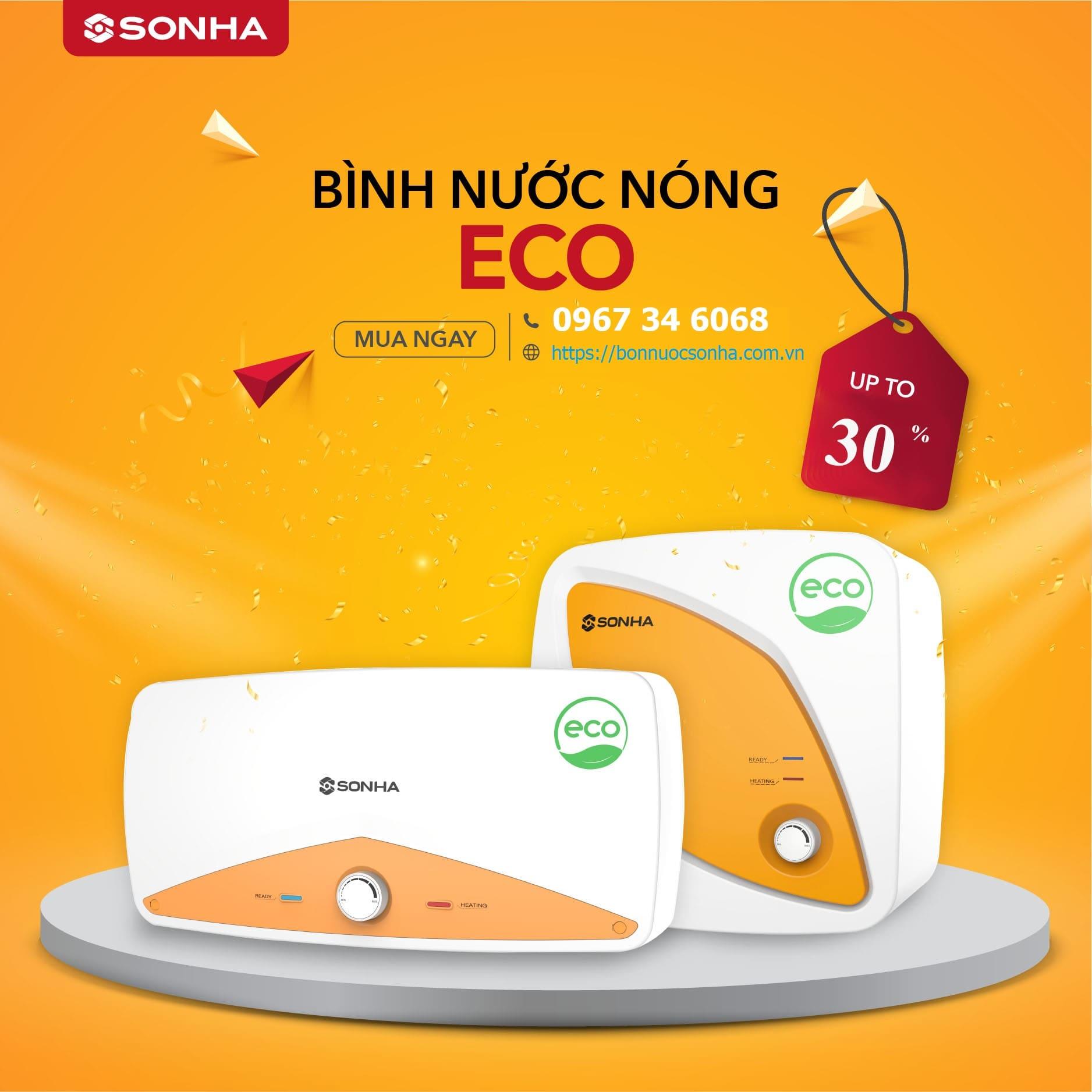 Khuyen Mai Binh Nuoc Nong Son Ha Eco Min