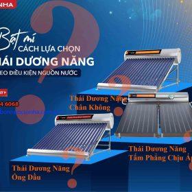 Cach Lua Chon Thai Duong Nang Phu Hop Theo Dieu Kien Nguon Nuoc Ban Co Tin Khong Min