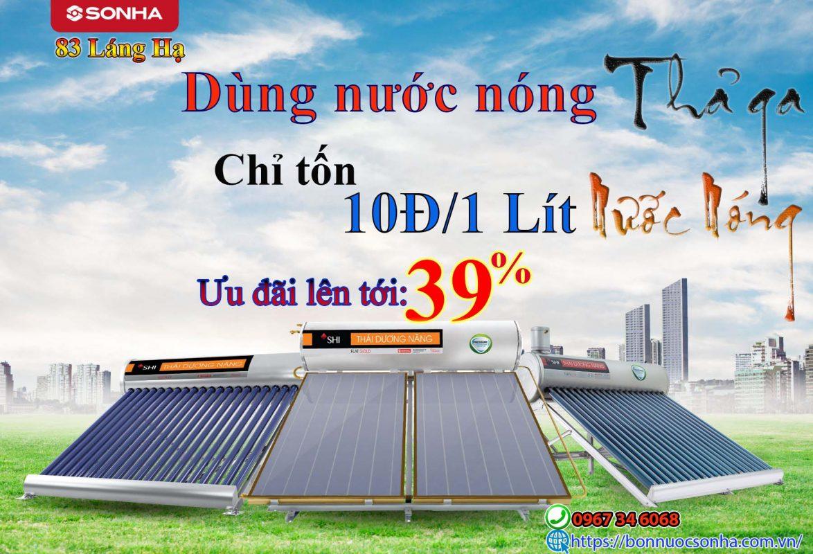 Dung Nuoc Nong Tha Ga Khong Lo Ton Dien Chi 10d Lit Uu Dai Khung 39 Min