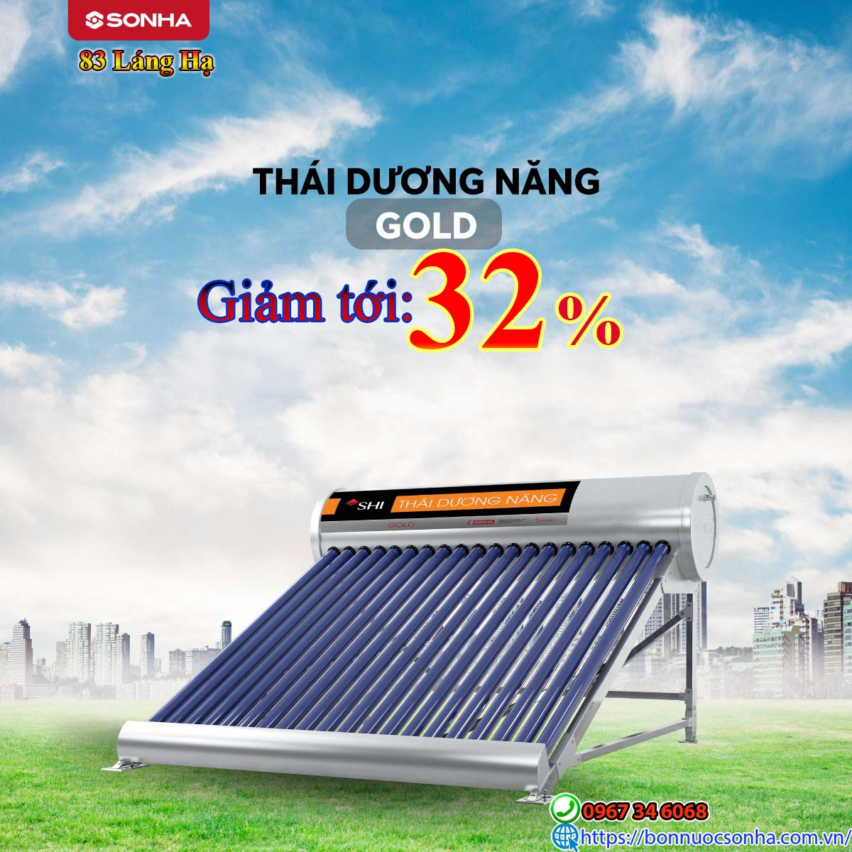 Thai Duong Nang Gold Giam Toi 32 %