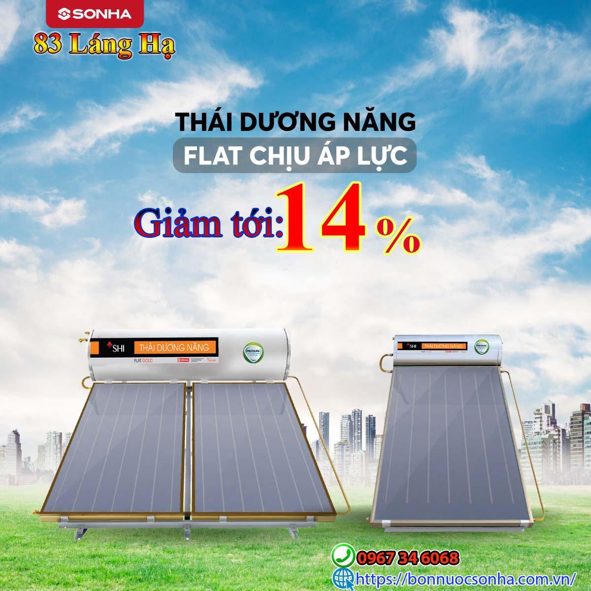 Thai Duong Nang Flat Chiu Ap Luc Giam Toi 14 %