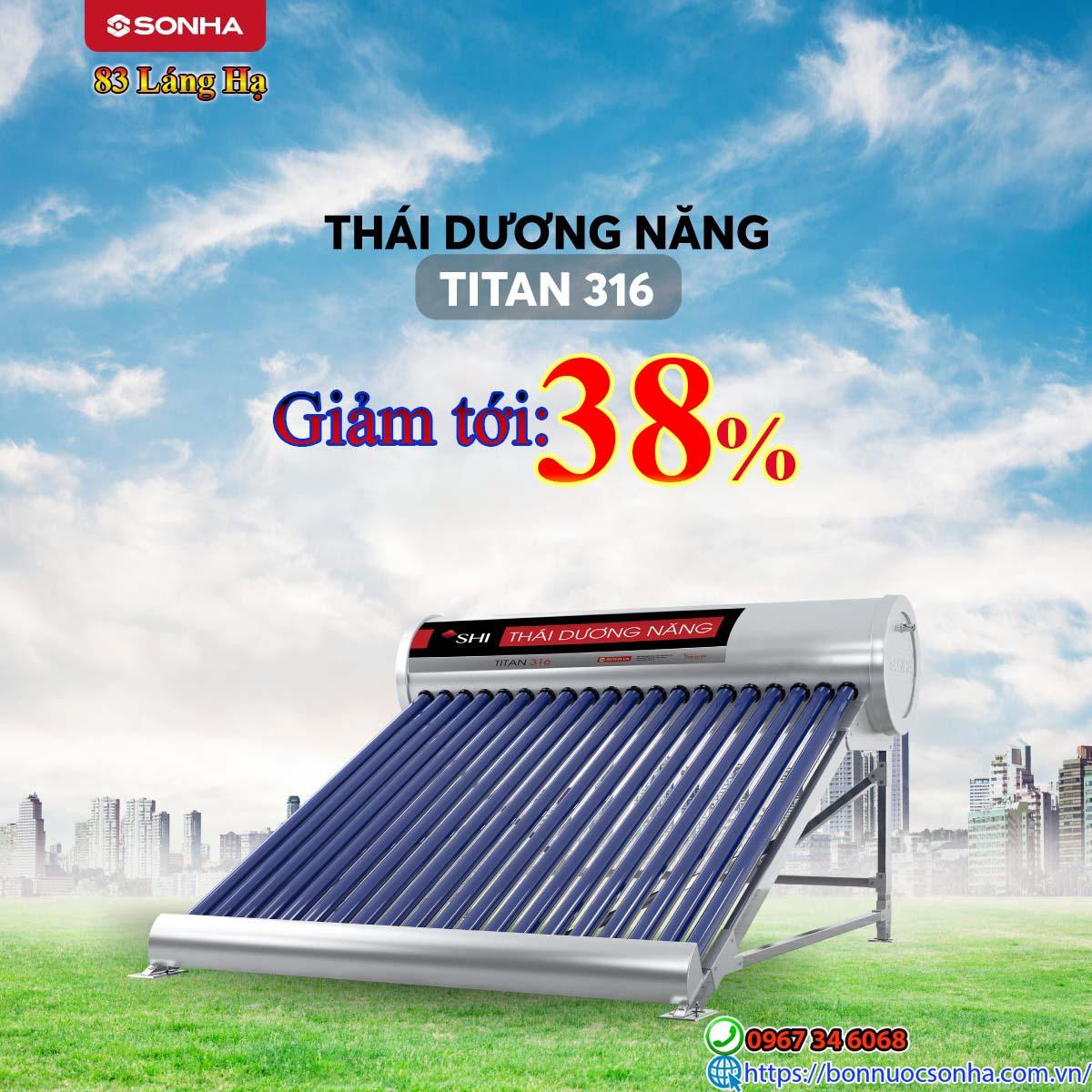 Thai Duong Nang Titan 316 Giam Toi 38 %