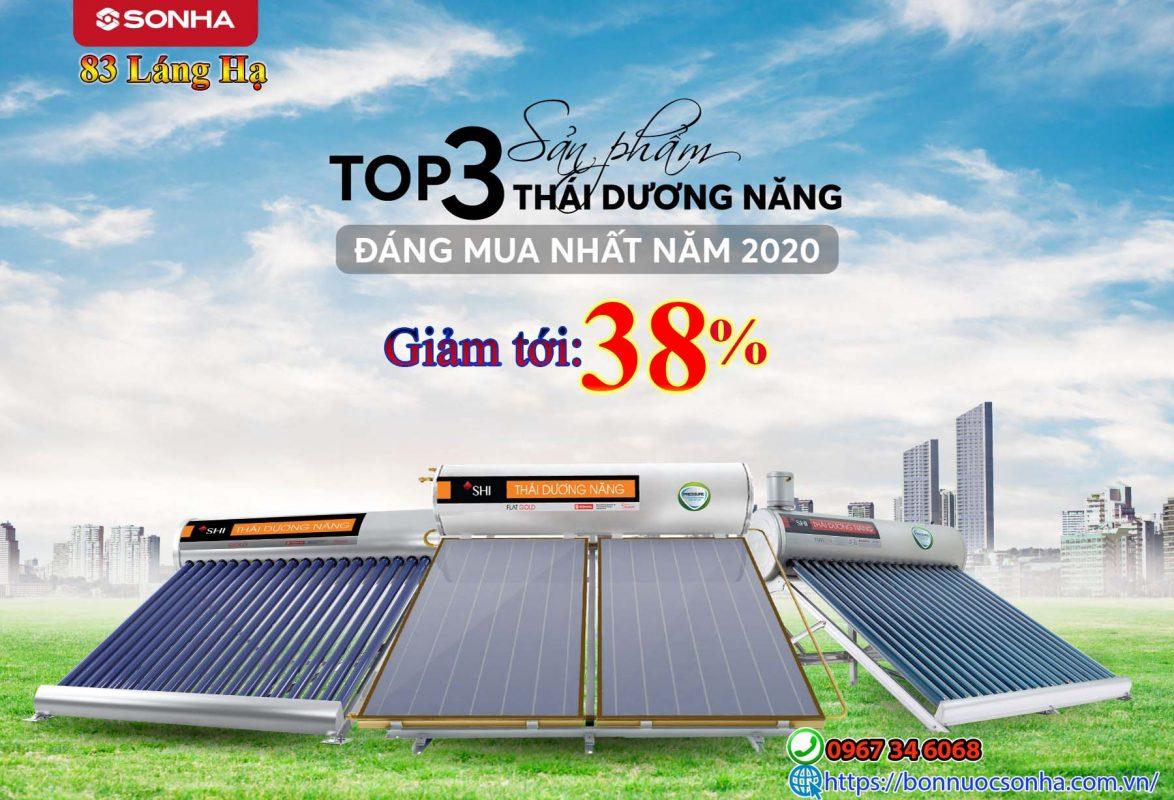 Top 3 ⚜️ Thai Duong Nang Son Ha Dang Mua Nhat Nam 2020 ⚜️ Uu Dai Toi 38 Min