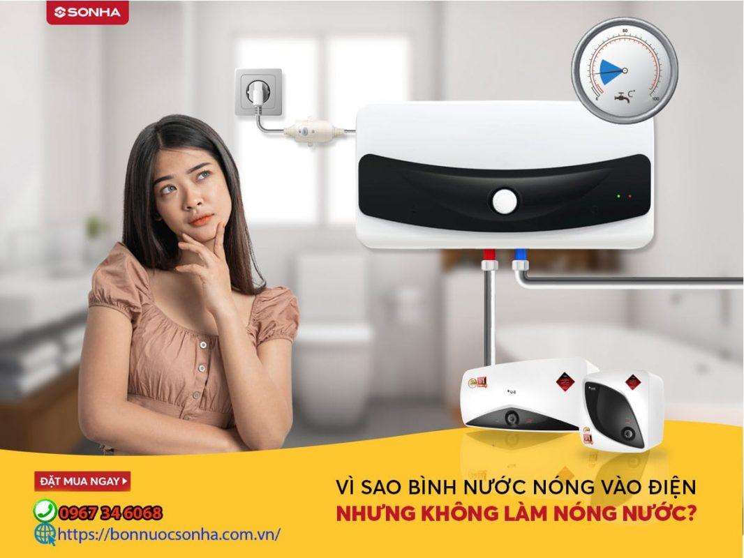 Vi Sao Binh Nuoc Nong Vao Dien Nhung Khong Lam Nong Nuoc Min