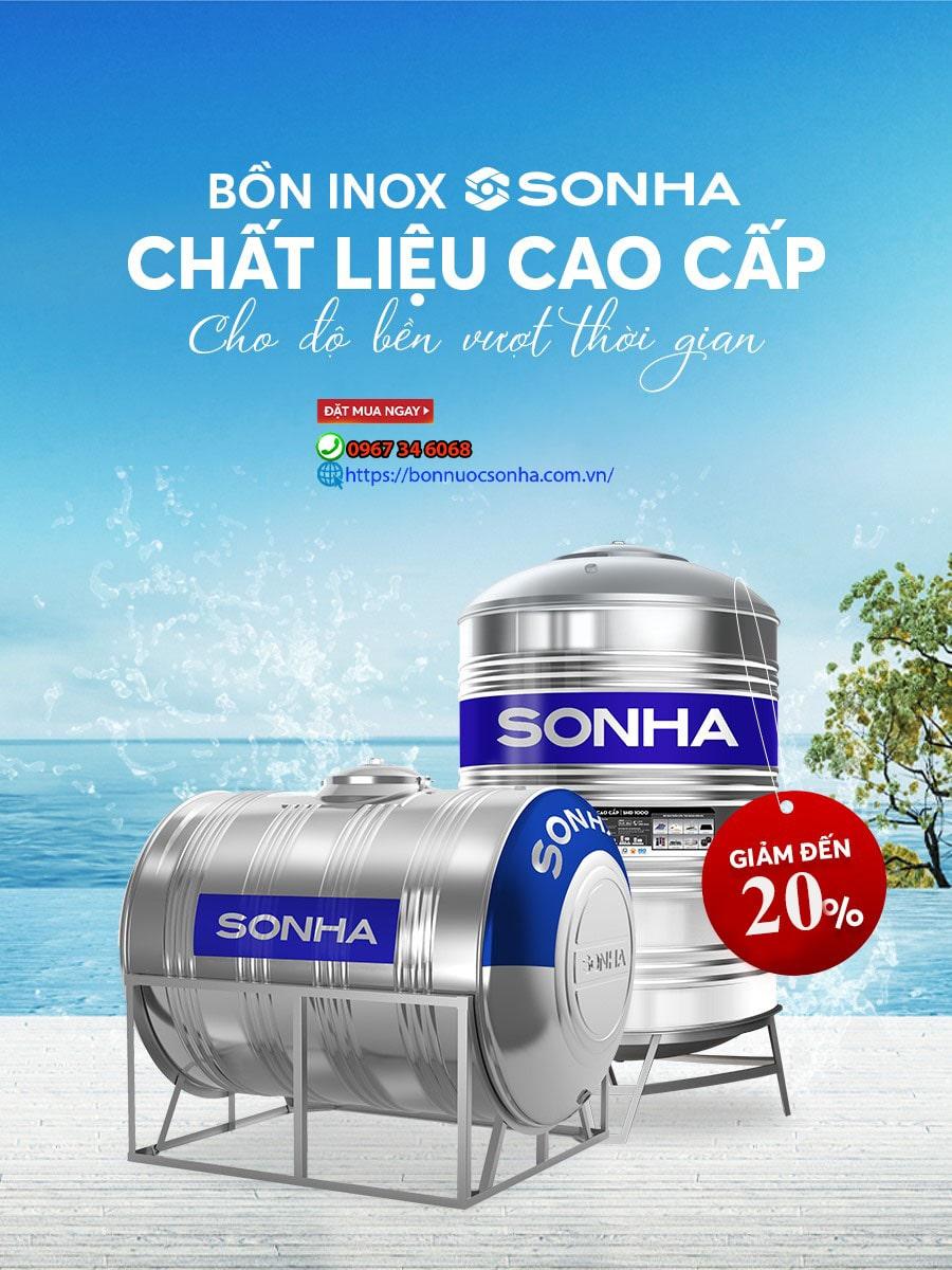 Bon Nuoc Inox Son Ha Chat Lieu Cao Cap Cho Do Ben Vuot Thoi Gian Min