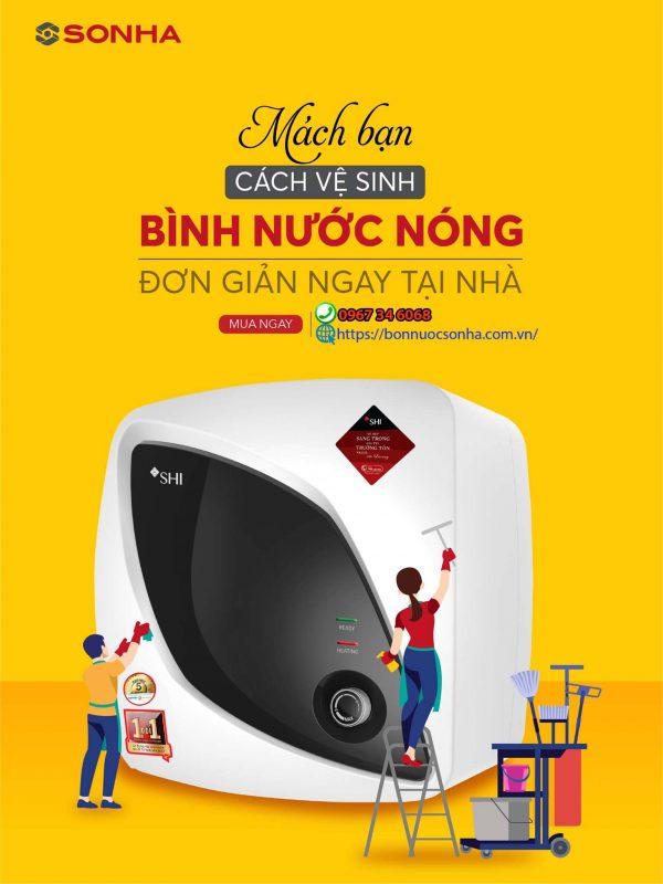 Mach Ban Cach Ve Sinh Binh Nuoc Nong Don Gian Ma Hieu Qua Min