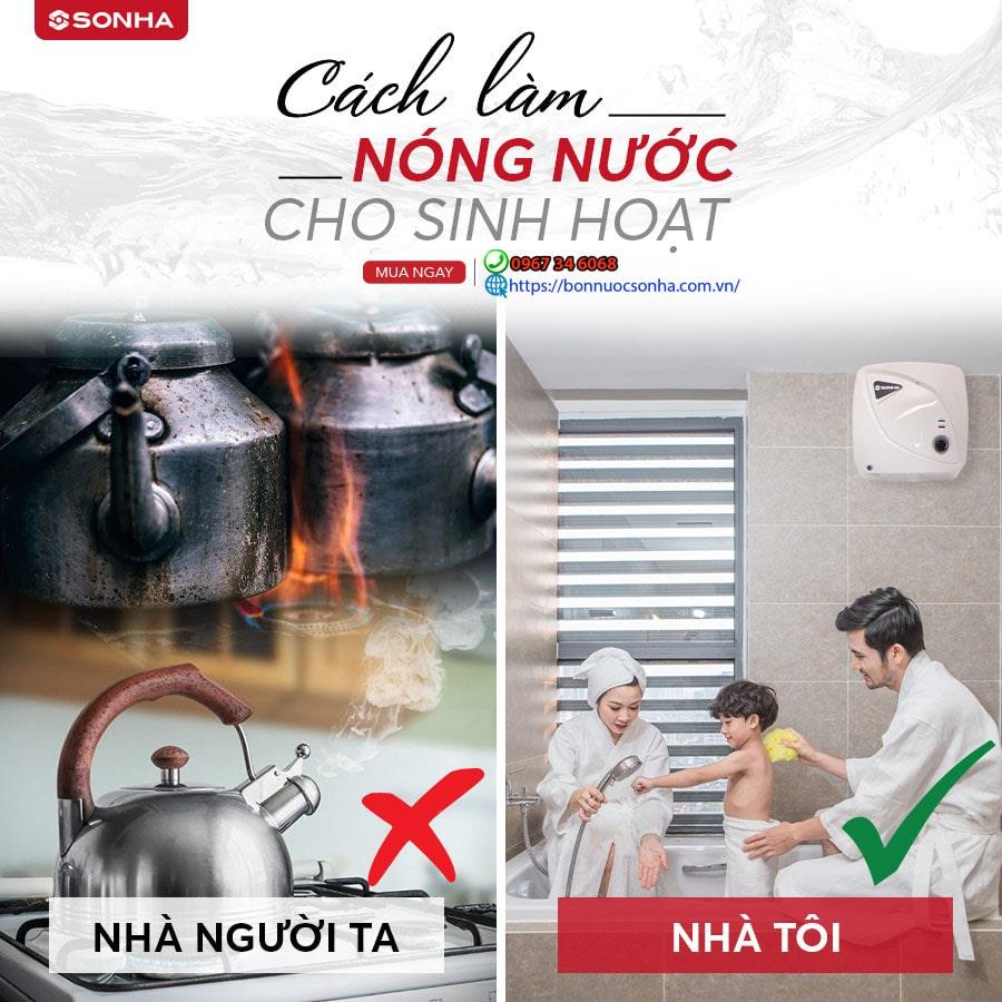 Su Khac Biet Trong Cung Cap Nuoc Nong Cho Sinh Hoat Min