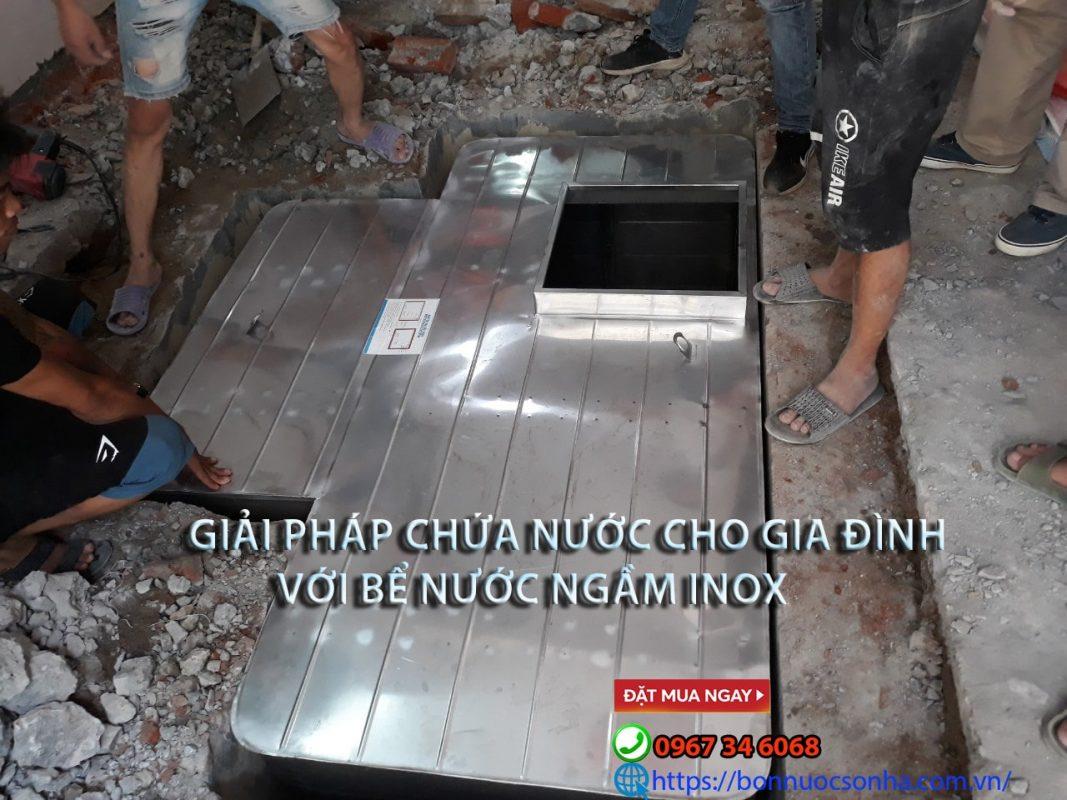 Giai Phap Cho Gia Dinh Voi Be Chua Nuoc Ngam Inox Min