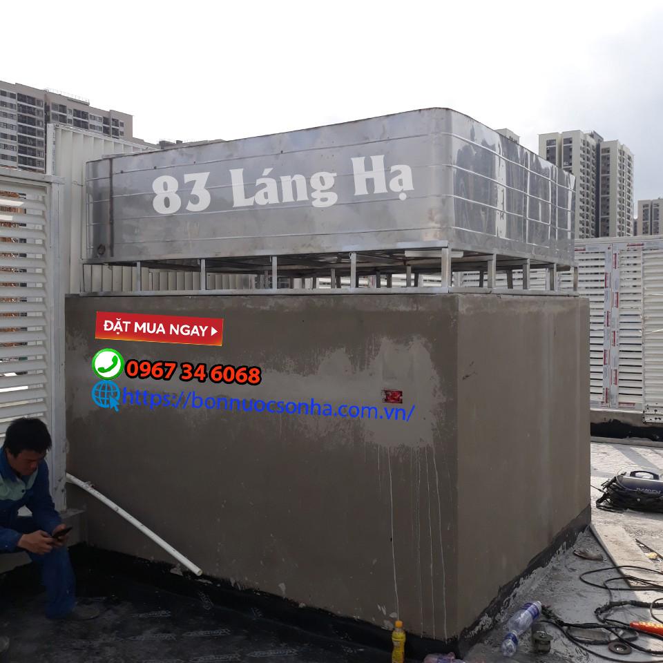 Giải pháp bể chứa nước cho các khu đô thị bị giới hạn chiều cao