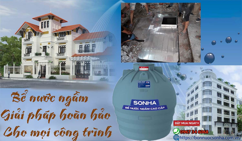 Giải pháp bể chứa nước sạch cho mọi công trình với bể nước ngầm