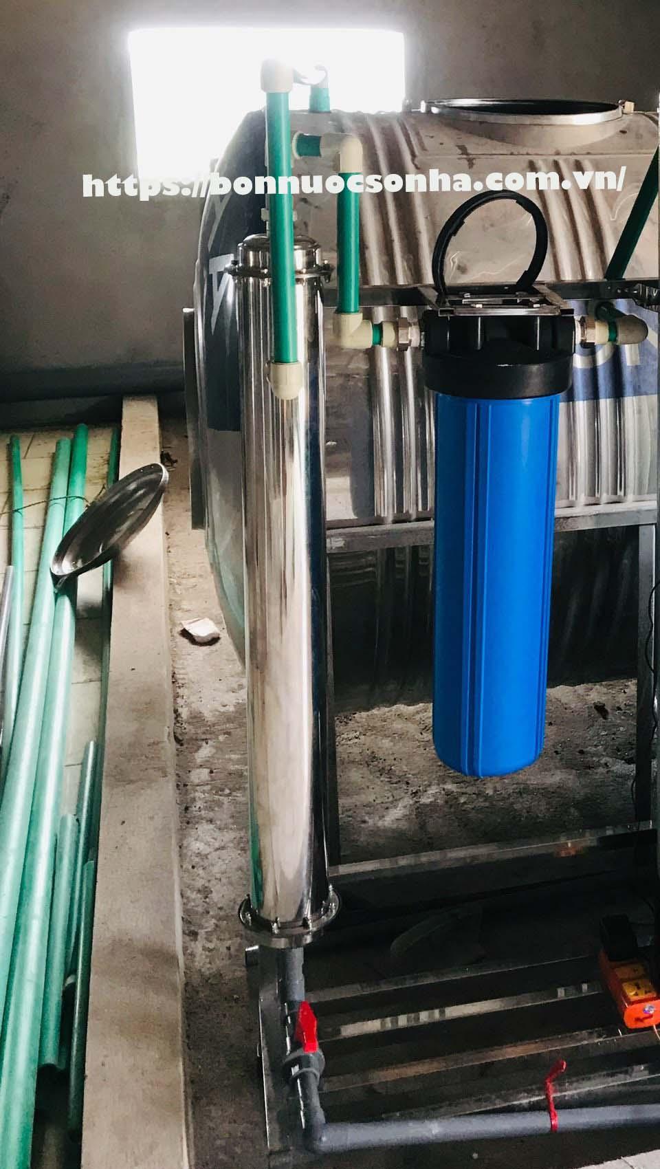 Một số cách lắp đặt lọc nước đầu nguồn, lọc tổng đảm bảo hiệu suất nhất