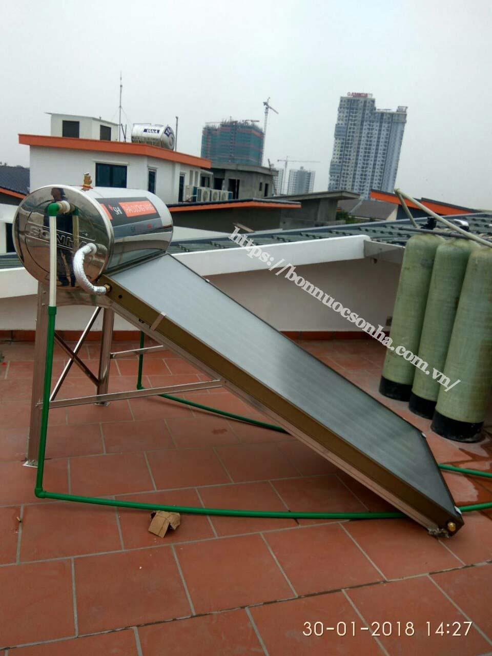Thái Dương Năng tấm phẳng chịu áp lực 150 - FGP150