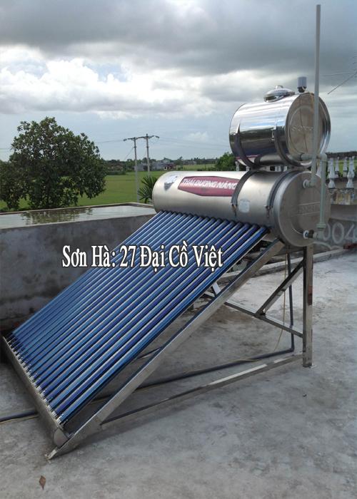 Thái Dương Năng Titan 316 Chịu Áp Lực - 20 ống - 220 lít