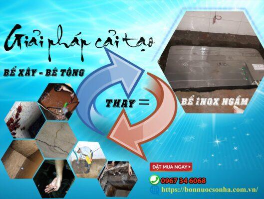 Giai Phap Cai Tao Be Xay Thay Bang Be Inox Ngam Hd Min